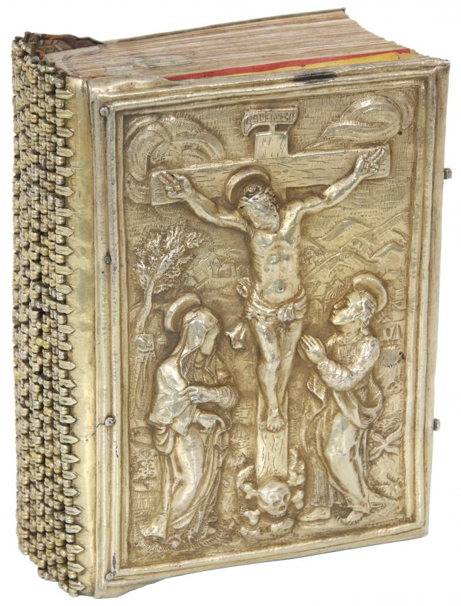 Armenian Bible with Silver Repousse Cover